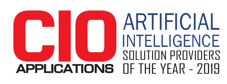 CIO Applications Award for AI Solutions Provider of the Year 2019
